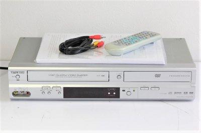 MITSUBISHI DJ-V250 DVDプレイヤー+VHSデッキ 【中古品】
