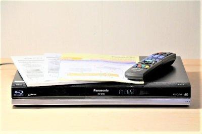 Panasonic DIGA ブルーレイディスクレコーダー 250GB シングルチューナー DMR-BR500 【中古品】