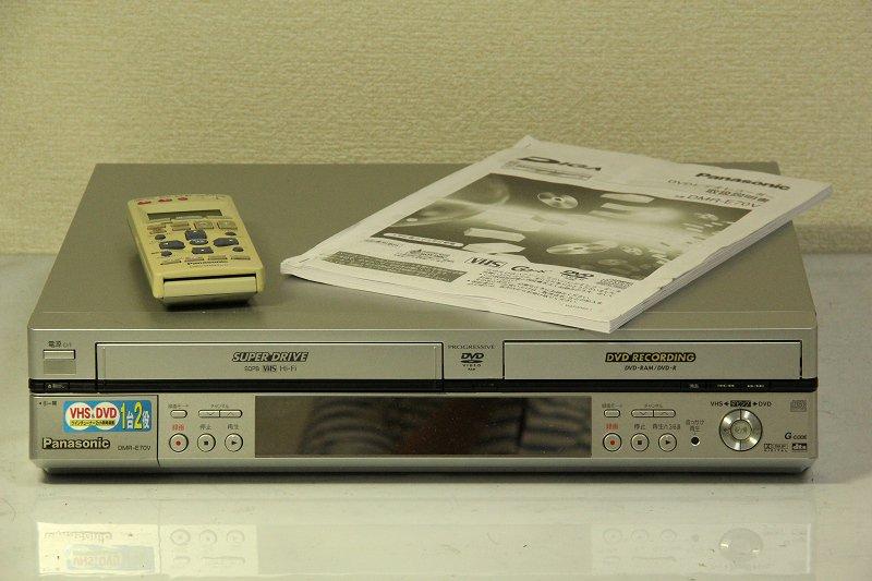 Panasonic DIGA DVDビデオレコーダー DMR-E70V