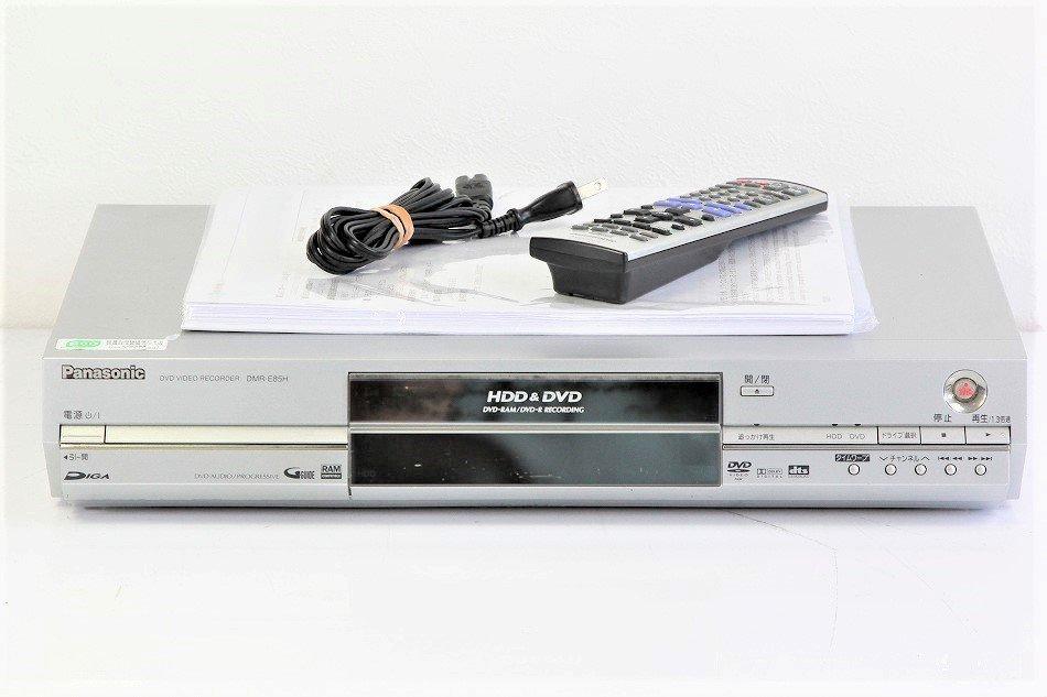 Panasonic DIGA DVDビデオレコーダー 160GB HDD内蔵 DMR-E85H【中古品】
