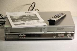 Panasonic DIGA DMR-E150V 80GB HDD内蔵ビデオ一体型DVDビデオレコーダー