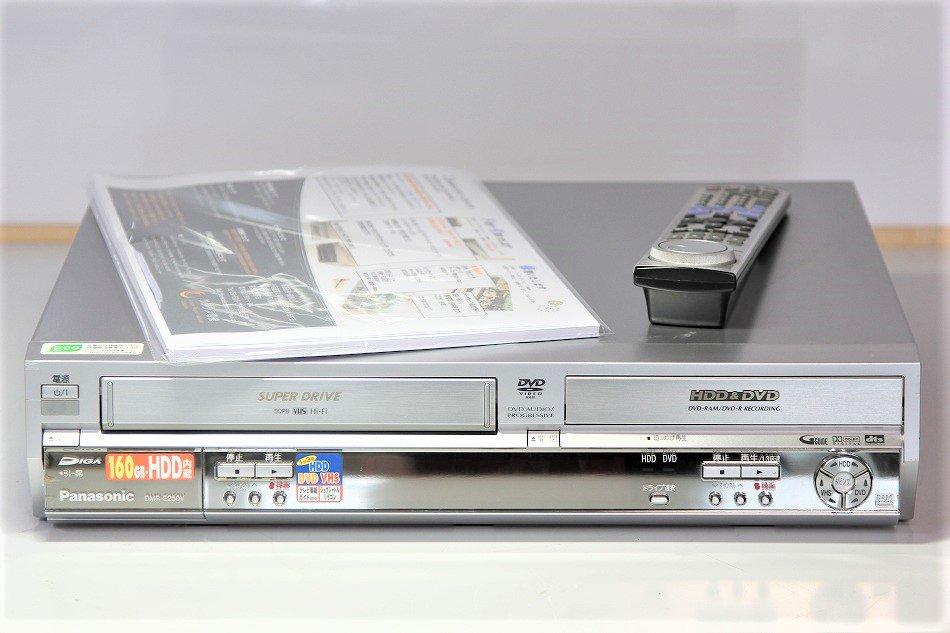 パナソニック DMR-E250V HDD/VHS/DVDレコーダー 【中古品】