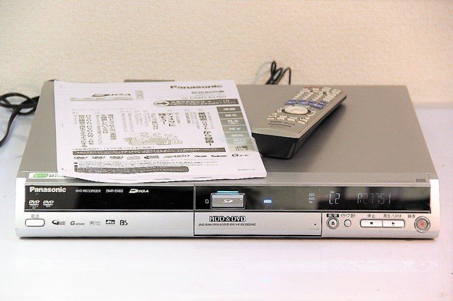 Panasonic DIGA DVDビデオレコーダー 300GB HDD内蔵 地デジ未対応 DMR-EH60 【中古品】