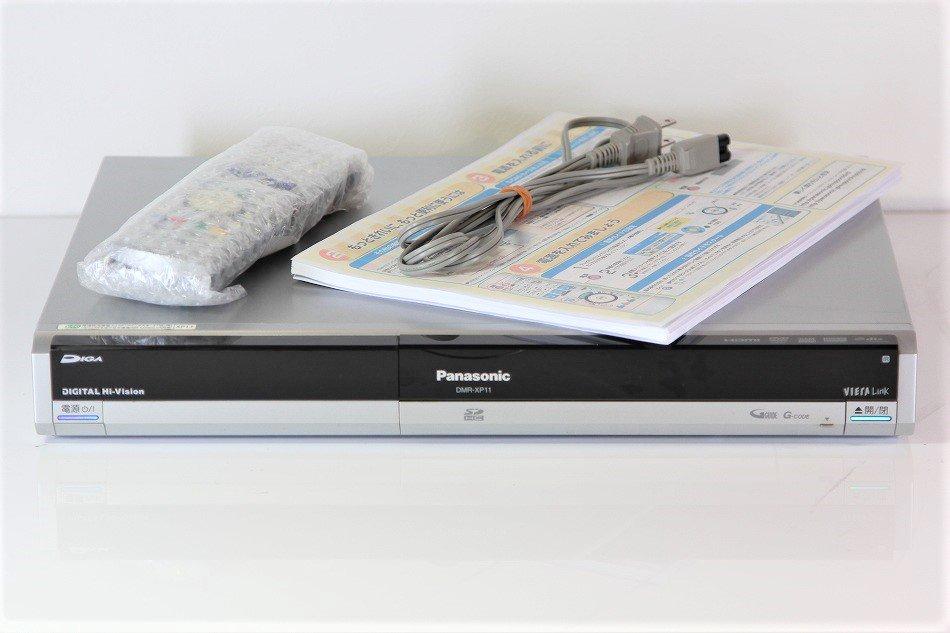 Panasonic DIGA HDD&DVDレコーダーHDD250GB デジタルハイビジョンチューナー DMR-XP11【中古品】