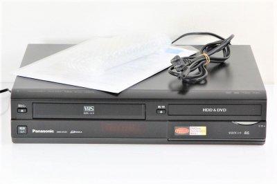 Panasonic DMR-XP25V DVD/HDDレコーダー 250GB/VHS一体型/Dチューナー内蔵 【中古整備品】