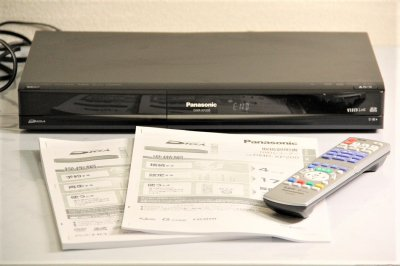 Panasonic DIGA DVDレコーダー HDD搭載ハイビジョン ブラック DMR-XP200 【中古品】