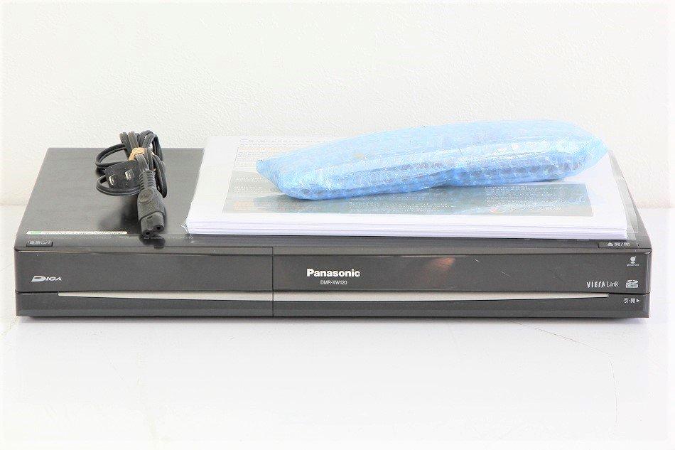 Panasonic DIGA HDD&DVDハイビジョンレコーダー  DMR-XW120【中古品】