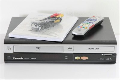 Panasonic DIGA ハイビジョンレコーダー VHSビデオ一体型 HDD250GB DMR-XW200