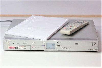 SHARP DV-HR350 HDD搭載DVDレコーダー (HDD/DVDレコーダー) HDD 120GB 【中古品】