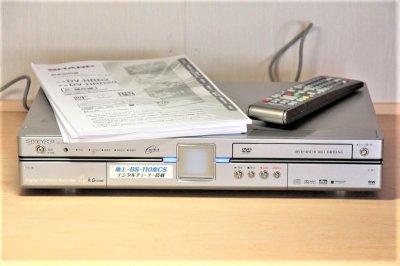 SHARP DV-HRD2 デジタルハイビジョンレコーダー 【中古品】
