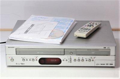 SHARP ハードディスク・DVD・ビデオ一体型レコーダー DV-HRW40 【中古品】