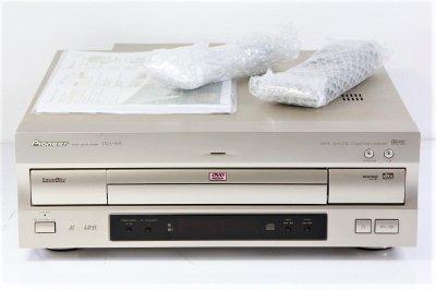 Pioneer DVD/LDコンパチブルプレーヤー ゴールド DVL-919 【中古整備品】