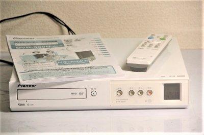 パイオニア Prive HDD&DVDレコーダー160GB HDD搭載 DVR-330H ホワイト 【中古品】