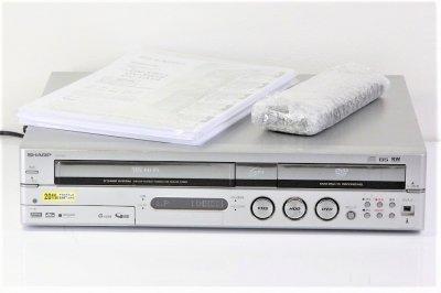 SHARP ハードディスク・DVD・ビデオ一体型レコーダーBSアナログ内蔵 160GB DV-TR11 【中古整備品】