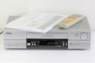 JVCケンウッド ビクター Gコード対応VHS Hi-Fiビデオ HR-G13 【中古品】