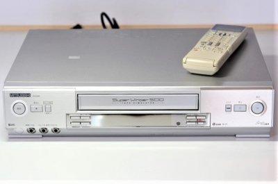 MITSUBISHI スーパーVHSビデオ HV-E500 【整備品】