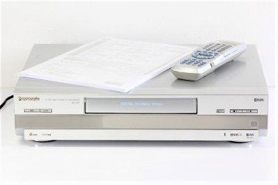 パナソニック D-VHS ビデオデッキ NV-DH2【中古品】