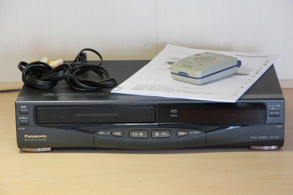 Panasonic NV-H5 パナソニック VHS 【中古品】