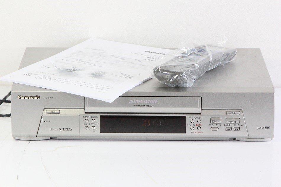 パナソニック NV-HV1 VHSハイファイビデオ 【中古品】