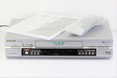 パナソニック  NV-HXB55 BSチューナー内蔵VHSハイファイビデオ 5倍対応 【中古品】