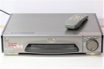 Panasonic NV-SB70W S-VHS ビデオデッキ 【中古整備品】