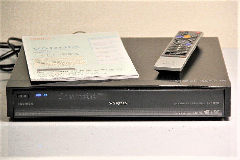 TOSHIBA VARDIA 地上・BS・110度CSデジタルチューナー搭載ハイビジョンレコーダー HDD1TB RD-X8