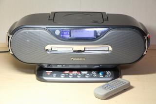 Panasonic パナソニック RX-MDX80 パーソナルMDシステム(CD/MDデッキ)【中古品】