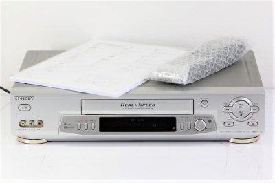 SONY SLV-R355 VHS 高速メカ搭載 【中古品】