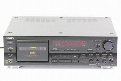 SONY TC-K222ESA カセットデッキ ソニー 【中古整備品】