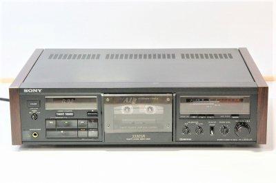 SONY 3HEAD カセットデッキ TC-K333ESR 1988年製 【中古整備品】