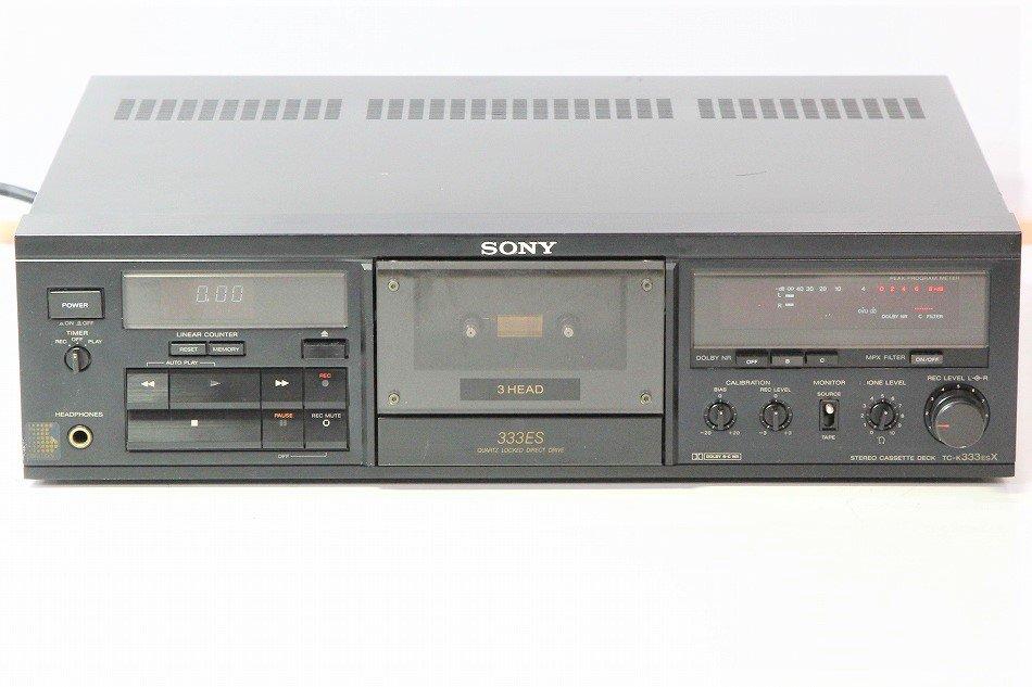 SONY ソニー TC-K333ESX 3HEADカセットデッキ 1987年製 【中古整備品】