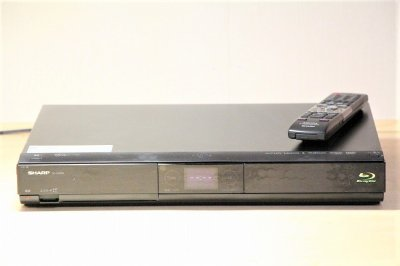 SHARP AQUOS ブルーレイディスクレコーダー 500GB シングルチューナー BD-HDS55 【中古品】