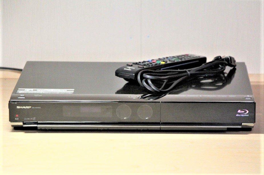 SHARP AQUOS ブルーレイディスクレコーダー 500GB ダブルチューナー BD-HDW45 【中古品】