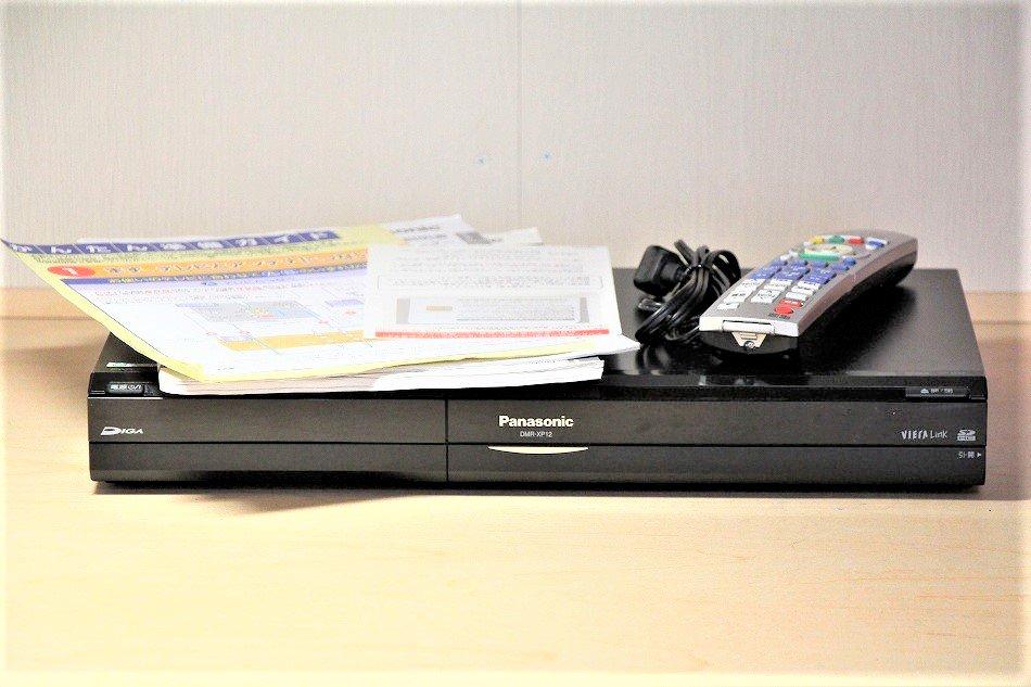 パナソニック DMR-XP12 DIGA HDC搭載ハイビジョンDVDレコーダー【中古品】