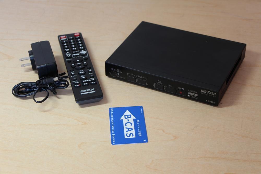 BUFFALO レコーダー機能搭載 TV用地デジチューナー 500G DTV-H500R