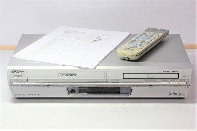 VICTOR DVDプレーヤー 一体型VHSビデオ HR-DV3 【中古整備品】