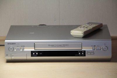 MITSUBISHI HV-H500 VHSビデオデッキ 5倍対応