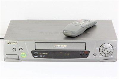PANASONIC NV-H110 Hi-Fi VHS ダビングなどに!【中古整備品】
