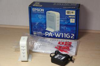 EPSON 無線プリントアダプタ [PA-W11G2]