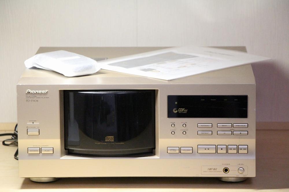 PIONEER PD-F908 101枚ファイルタイプCDプレイヤー 【中古品】