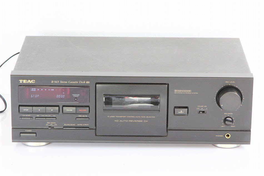 TEAC R-565 カセットデッキ