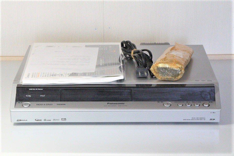 Panasonic DIGA 地上・BS・110度CSデジタルチューナー搭載ハイビジョンレコーダー 200GB DMR-EX100【中古品…