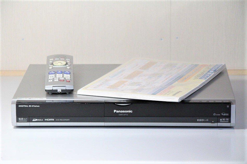 Panasonic DIGA 3波デジタルハイビジョン HDD&DVDレコーダーHDD200GB DMR-XP10 【中古品】