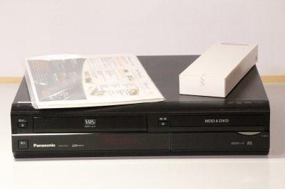 Panasonic DIGA 地上・BS・110度CSデジタルチューナー搭載ハイビジョンレコーダー VHSビデオ一体型HDD250GB DMR-XP22V 【中古品】