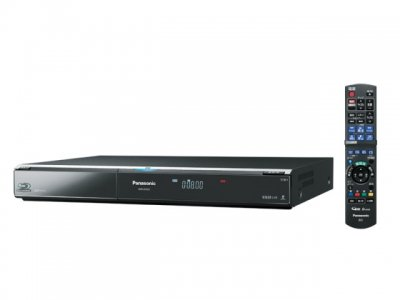 Panasonic 500GB 2チューナー ブルーレイディスクレコーダー DIGA DMR-BW800