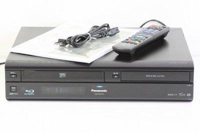 Panasonic DIGA ブルーレイディスクレコーダー 320GB 地上・BS・110度CSデジタルチューナー搭載ハイビジョン対応 VHS一体型 ブラック DMR-BR670V