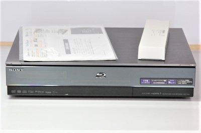 SONY 1TB 2チューナー ブルーレイレコーダー BDZ-X100 【中古品】