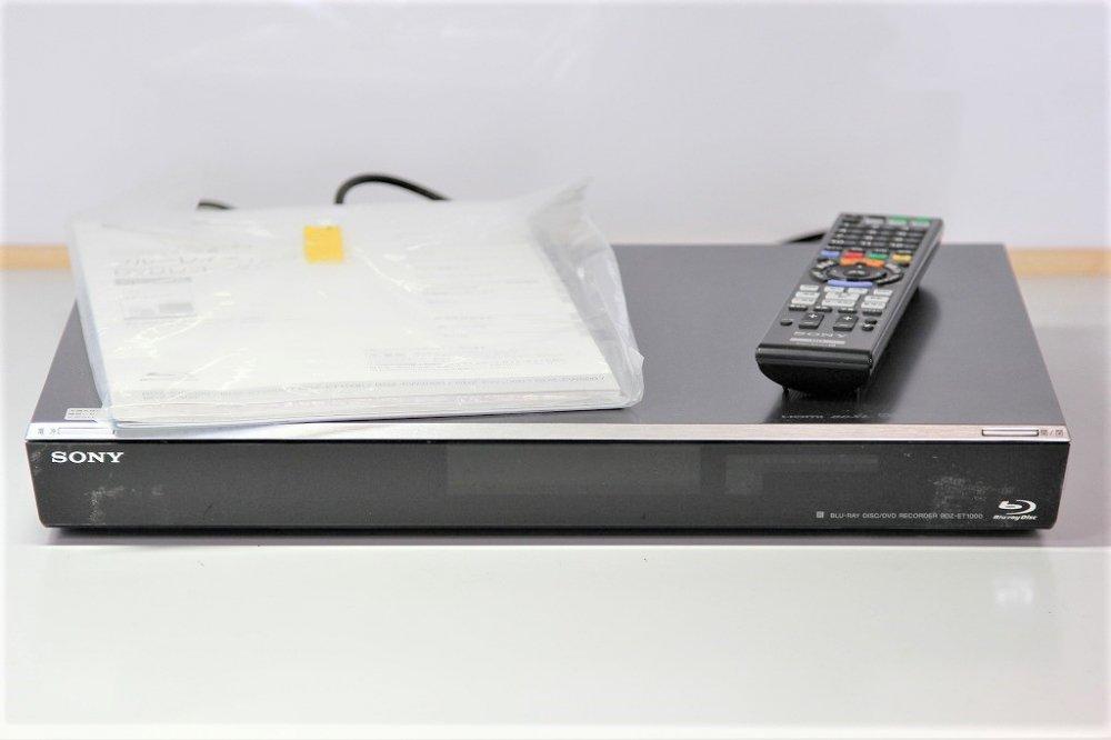 SONY ブルーレイディスクレコーダー/DVDレコーダー 1TB BDZ-ET1000 【中古品】