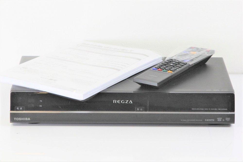 TOSHIBA 地上・BS・110度CSデジタルチューナー搭載ハイビジョンレコーダーREGZA HDD320GB RD-R100