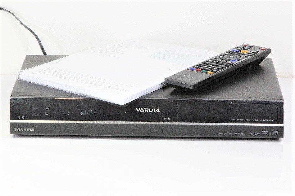 TOSHIBA VARDIA 地上・BS・110度CSデジタルチューナー搭載ハイビジョンレコーダー HDD320GB RD-E305K